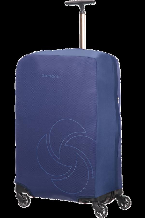 Samsonite Global Ta Foldable Luggage Cover M Bleu nuit