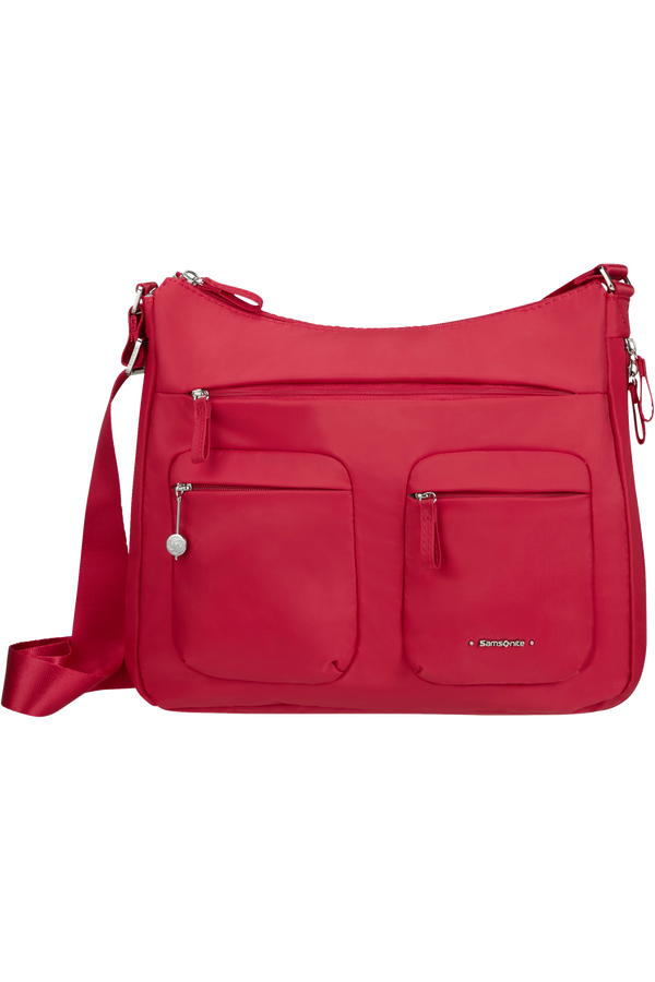 Samsonite Move 3.0 Hobo Expandable M  Rouge cerise