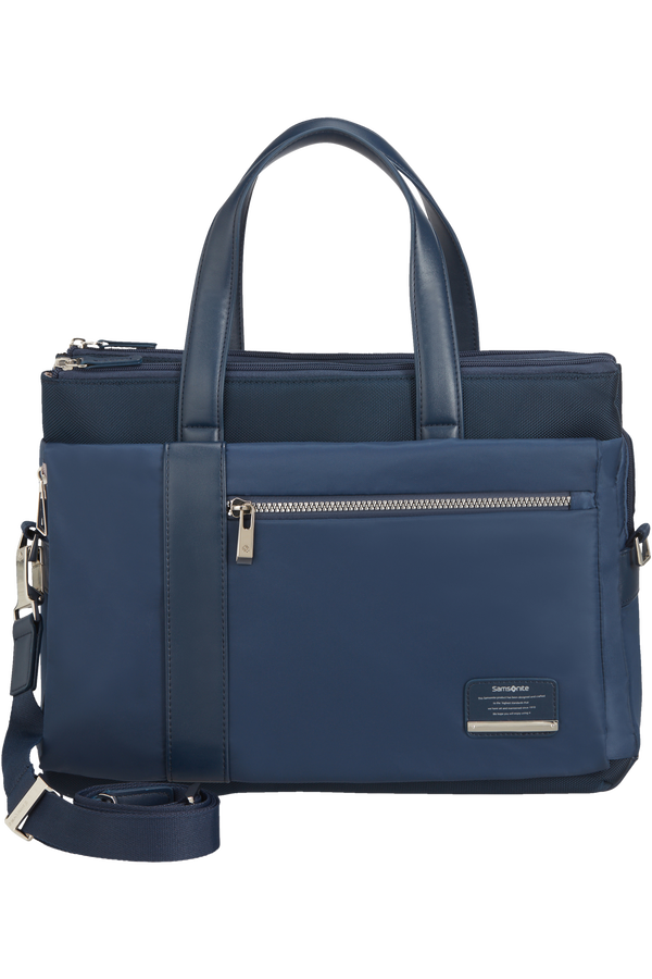 Samsonite Openroad Chic Org. Bailhandle  14.1inch Bleu nuit