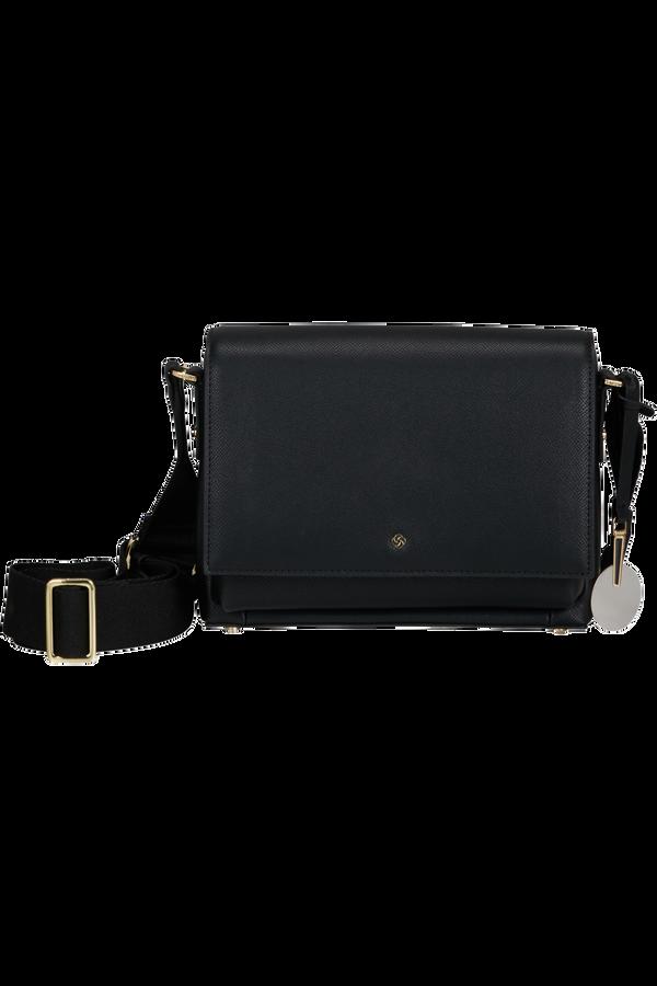 Samsonite Roundtheclock Shoulder Bag + Flap  Noir