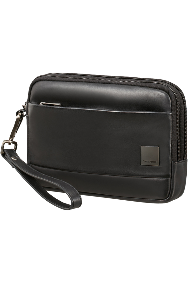 Samsonite Hip-Square Lth Clutch S 2c  Noir