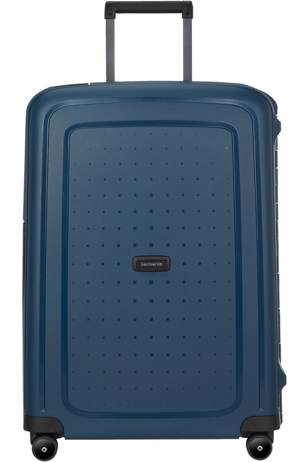 Samsonite S'cure Eco Spinner Post Consumer 69cm  Bleu marine