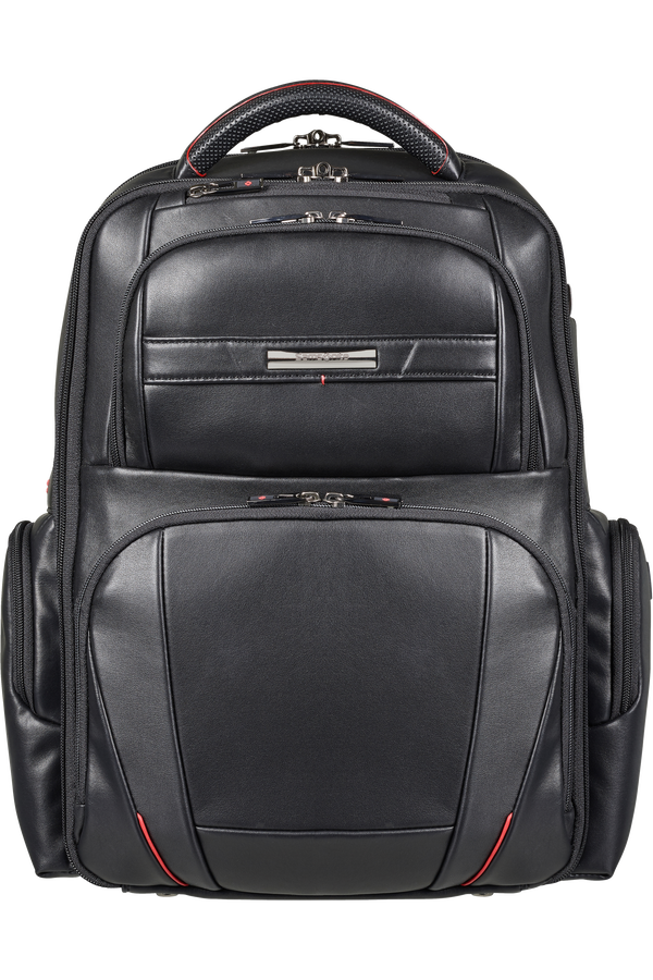 Samsonite Pro-Dlx 5 Lth Laptop Backpack  15.6inch Noir