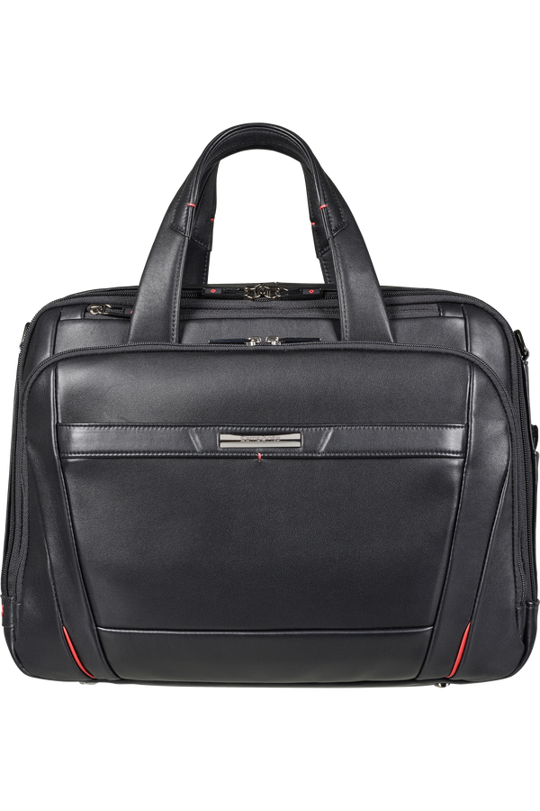 Samsonite Pro-Dlx 5 Lth Laptop Bailhandle Expandable  15.6inch Noir