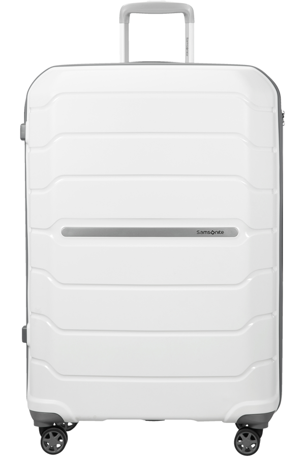 Samsonite Flux Spinner Extensible 68cm Blanc