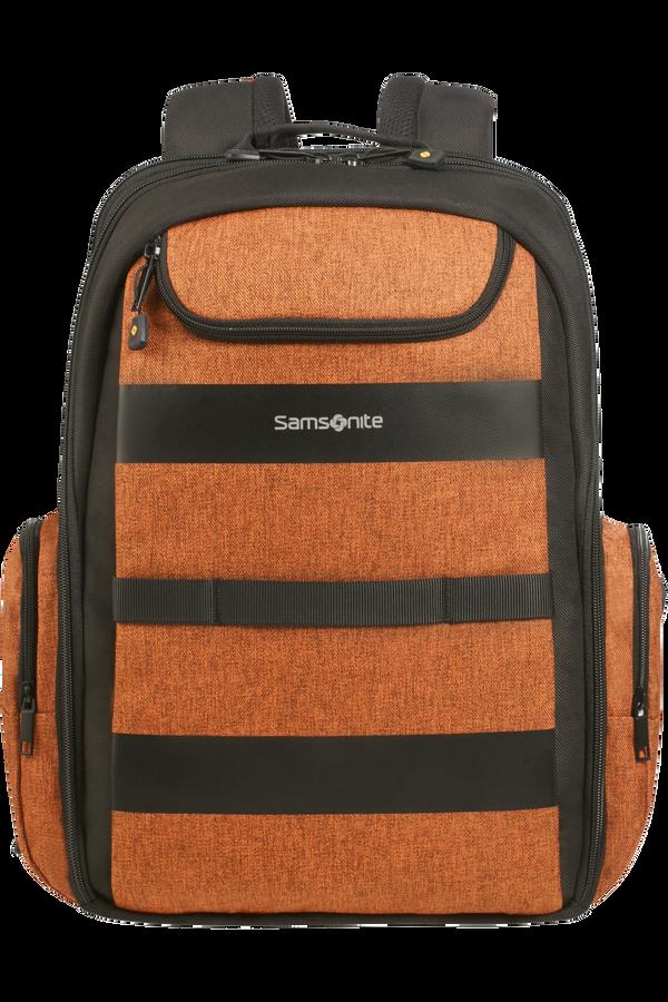 Samsonite Bleisure Backpack 15.6' Exp Daytrip  Deep Orange