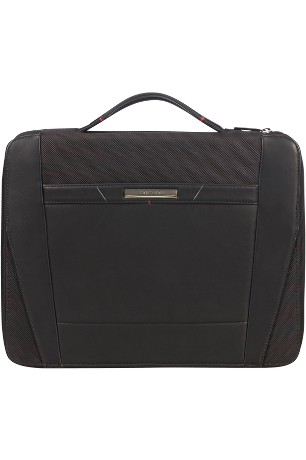 Samsonite Stationery Pro-Dlx 5 Zip Folder A4 Top H+Det B  Noir