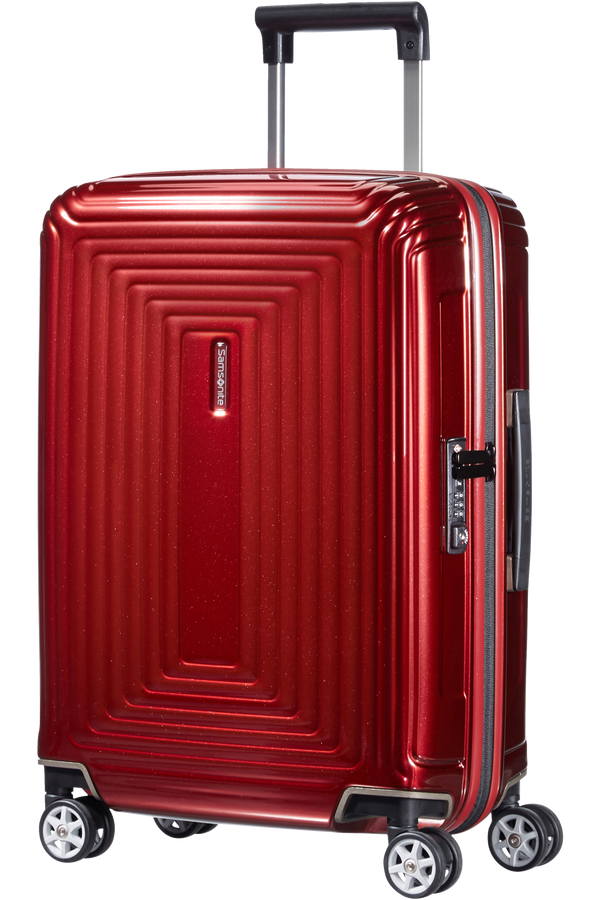 Samsonite Neopulse Spinner 55cm Rouge métal