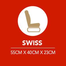 Bagages à main pour Swiss Airlines
