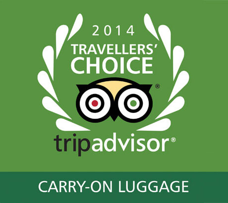 The award winning brand for carry-on luggage as voted for by Tripadvisor travellers