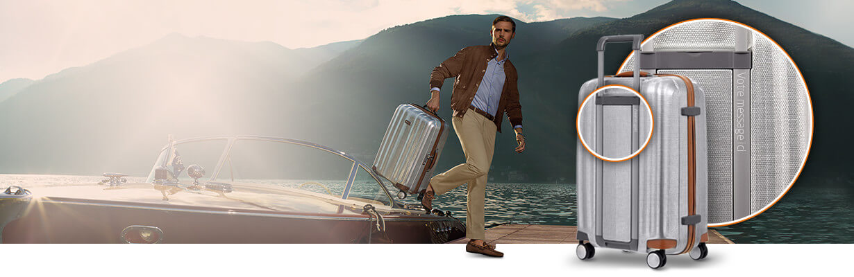 Add a personal touch to your Samsonite