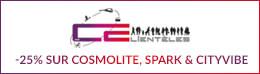 -25% sur Cosmolite, Spark & Cityvibe
