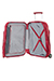Fuze Upright (2 roulettes) 55cm Cabernet Red